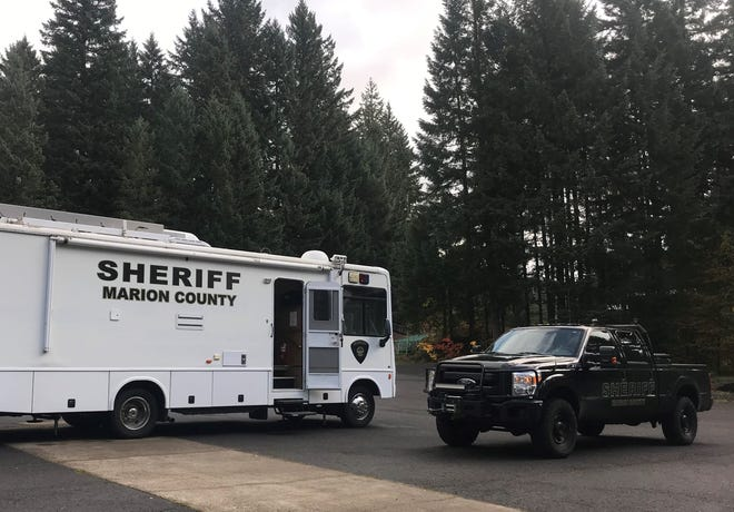 Deputies are searching for a missing person near Detroit, Oregon.