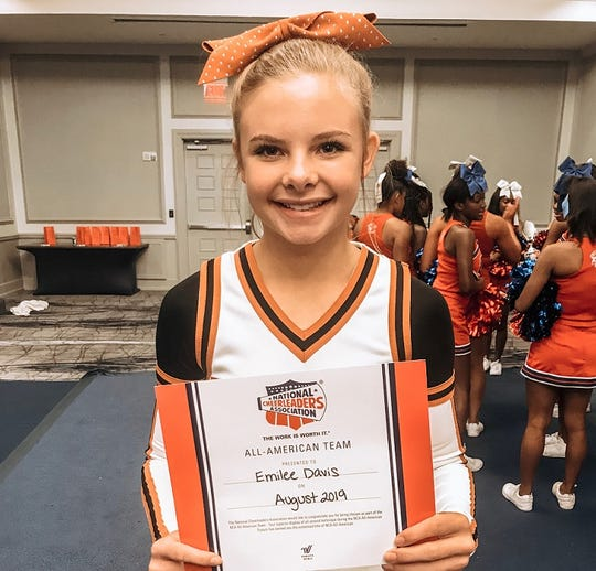 Northwood's Emilee Davis was the top vote getter in The Times Athlete of the Week voting for Oct. 18, 2019.