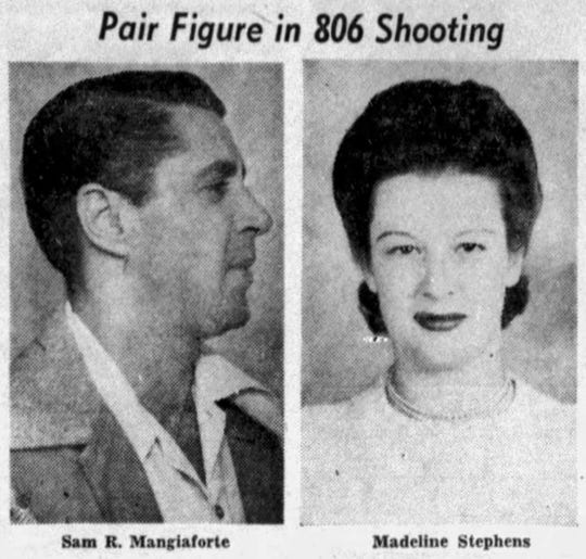 Sam Mangiaforte and Madeline Stephens.