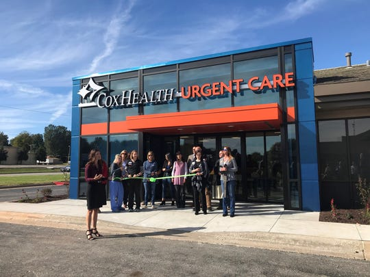 A ribbon-cutting was held in 2019 for a new Springfield urgent care operated by CoxHealth.