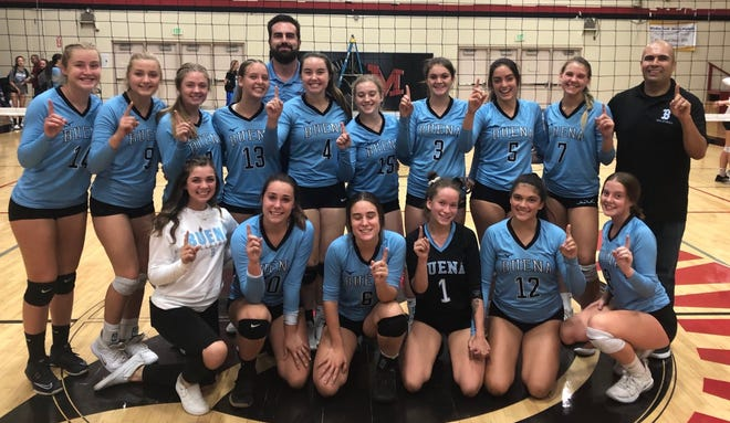 The Buena girls volleyball team earned a share of the Pacific View League title with Oxnard in its second year in the league.