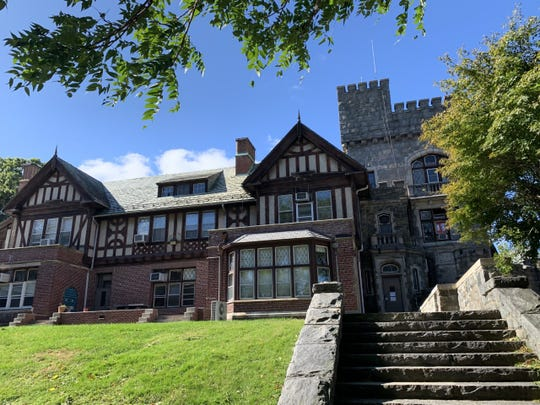 The Warburg mansion is in dangerous disrepair, Greenburgh school officials say.
