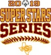 The 2019 Superstars Series softball game will begin at 9:15 a.m. Saturday, Oct. 19.