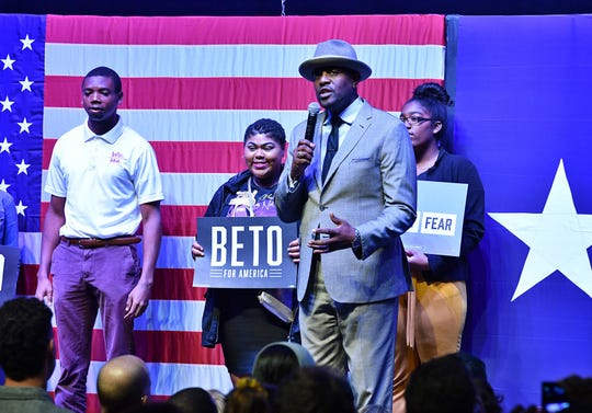 The Rev. Dr. Michael Waters brought a message of unity during his time on stage at the  Rally Against Fear, a Beto O'Rourke counter rally to Donald Trump's event in Dallas.
