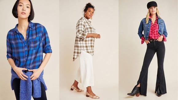 Add some fresh plaid to your fall wardrobe.