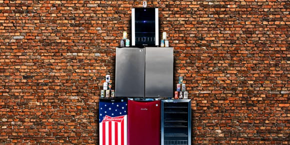 Best Christmas gifts for men: Danby Contemporary Classic mini fridge