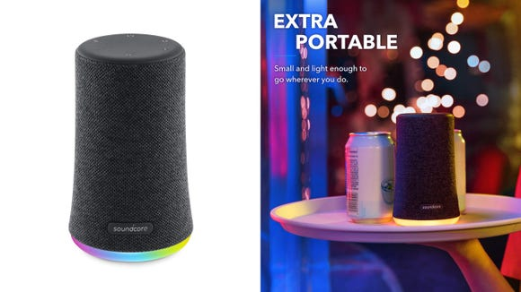 Party like it's 1999 with this speaker.