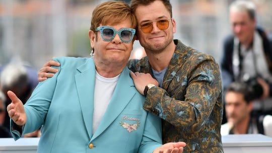 Elton John, Taron Egerton rock 'Rocketman' revival with 'Don't Let the Sun Go Down' duet