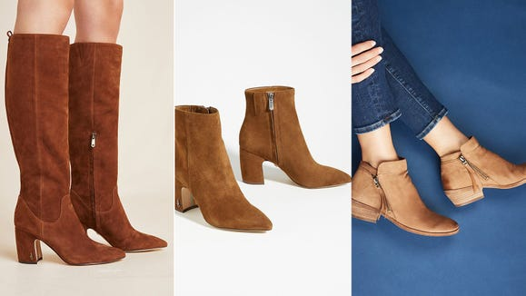 These boots were made for walkin'.