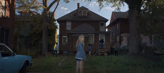 """It Follows"" stars Maika Monroe as a girl hunted by a supernatural force."