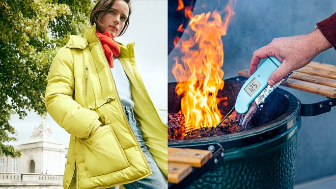 Save big on cozy clothes and popular kitchen tools with these sales.