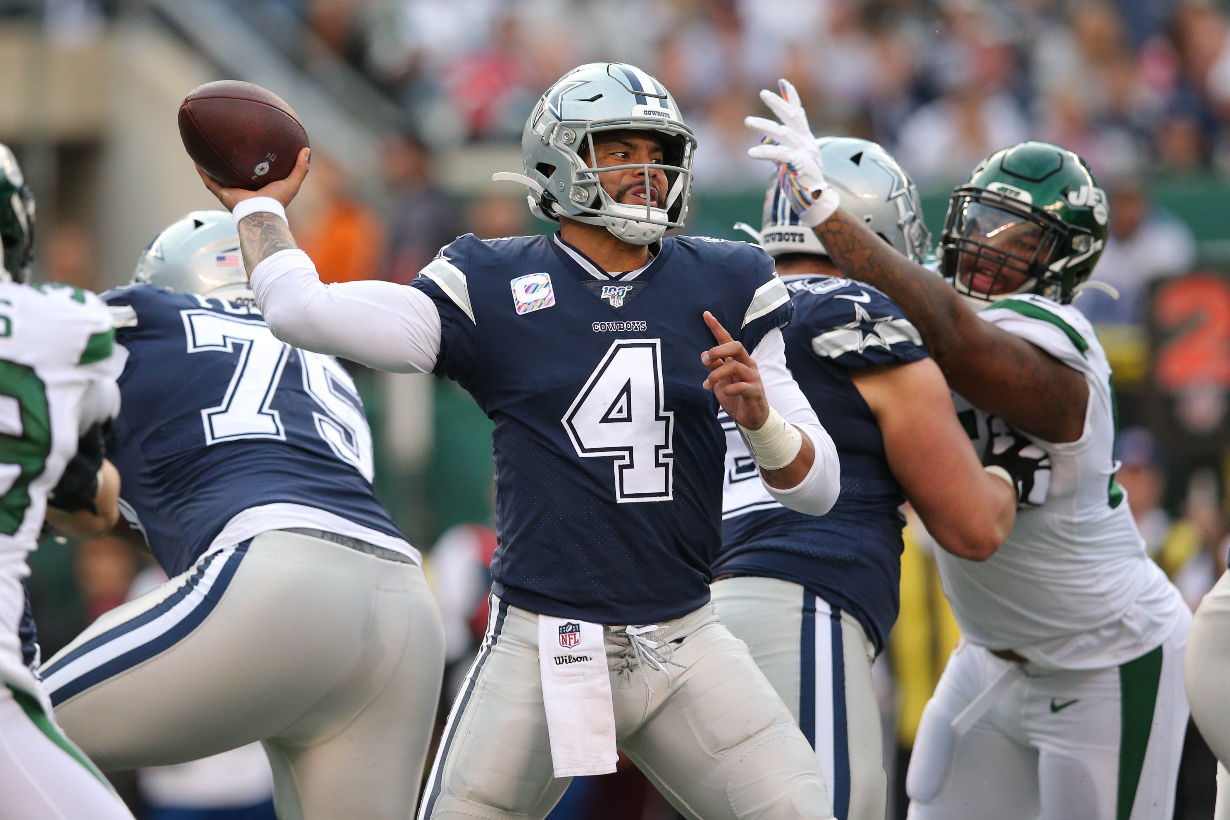 Ideal time to lose three? Cowboys QB Dak Prescotts weird way of looking at things'