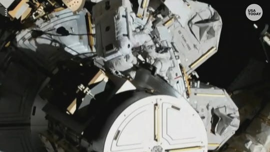 Two female astronauts made history in NASA's first all-female spacewalk