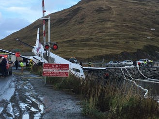 One dead in commuter plane crash on Alaskan island