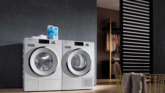 Best washer and dryer sets: Miele W1 compact washer & T1 compact ventless dryer