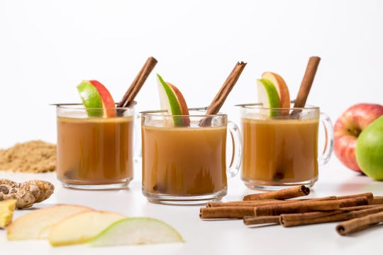 Hot apple cider with buttered rum: Get the recipe