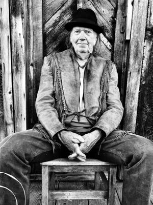 "Neil Young, pictured, will release a new album, ""Colorado"" with the Crazy Horse band."