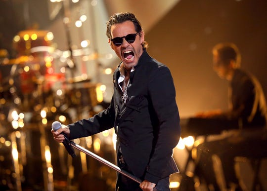 Marc Anthony performs onstage during the 2019 Latin American Music Awards.