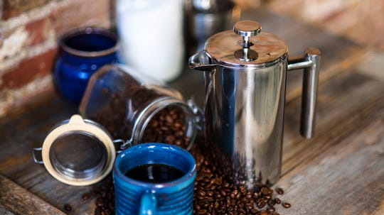 Best Valentine's Day gifts for men: SterlingPro French Press.