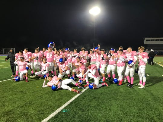 All's well for Owego following 37-20 win over M-E, Oct. 18, 2019.