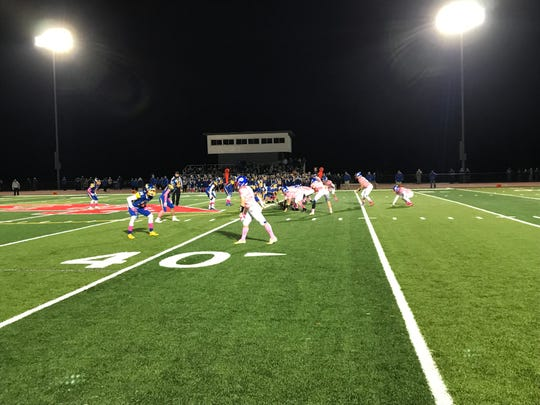 Action from M-E at Owego, Oct. 18, 2019.