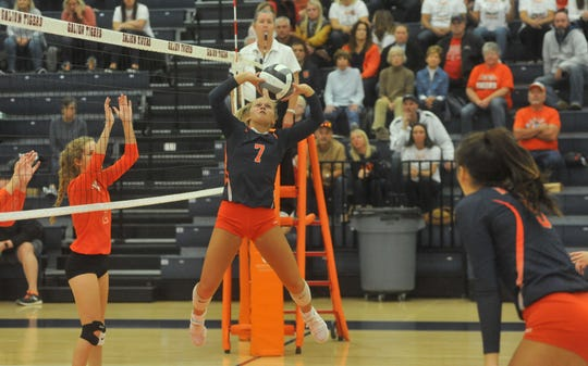 Galion's Kayla Hardy wan named the 2019 Mansfield News Journal Volleyball Player of the Year.