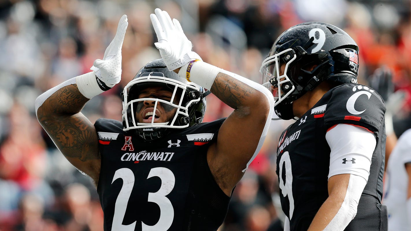 Gerrid Doaks scores three TDs in No. 21 Cincinnati football's win against Tulsa