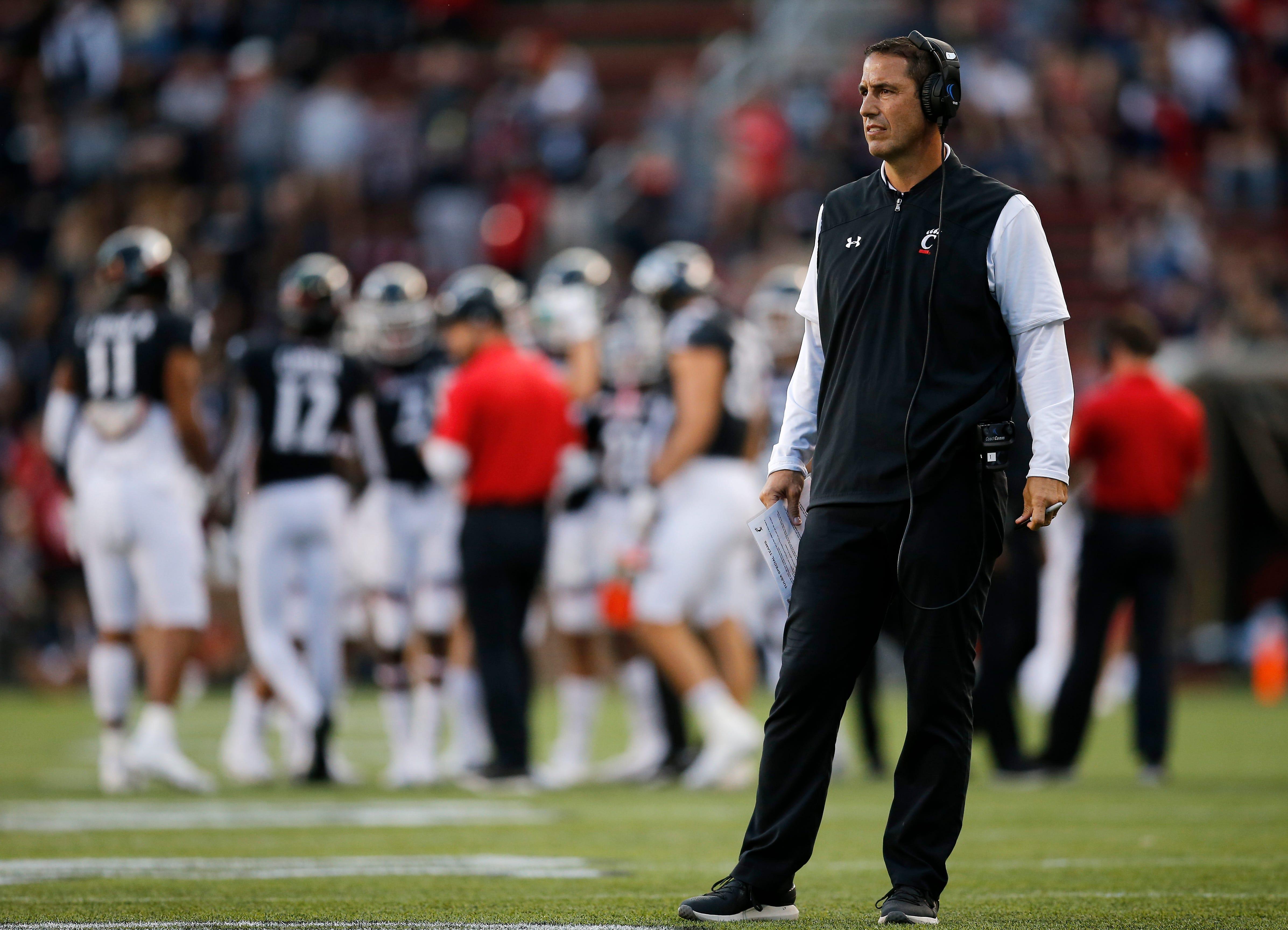 UC football's Luke Fickell talks Bearcats' win against Tulsa