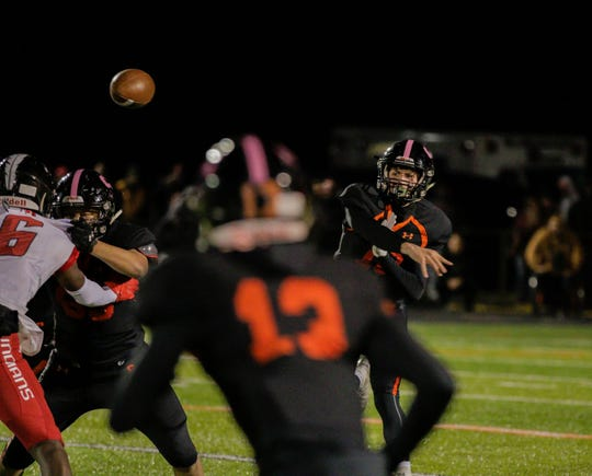 Somerville's Justin Brenner lets one fly Friday night