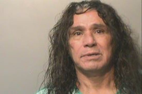 Jessie Gonzales is booked in Polk County Jail.