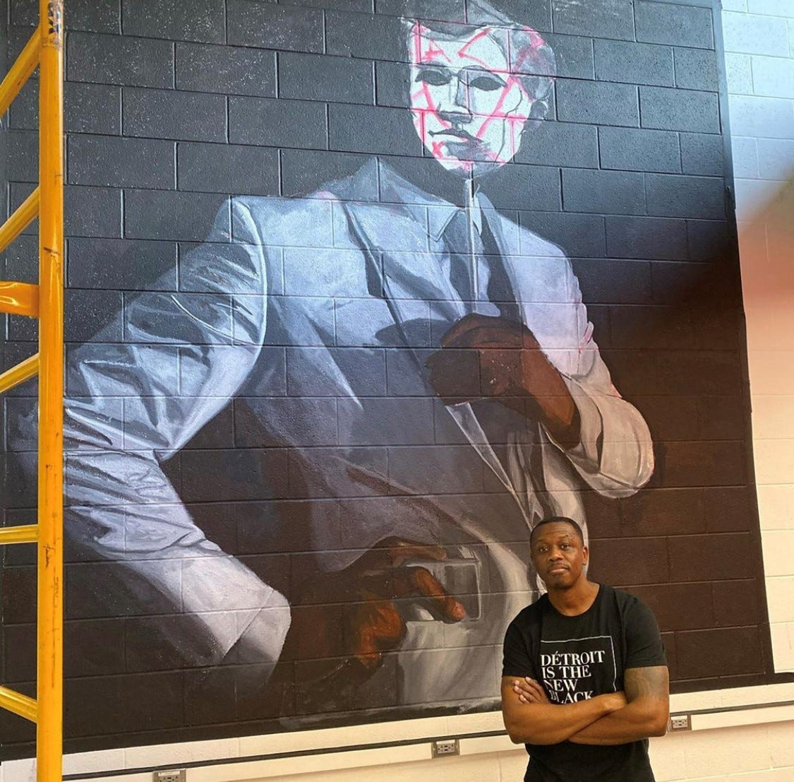 Mural to honor UM's first black student