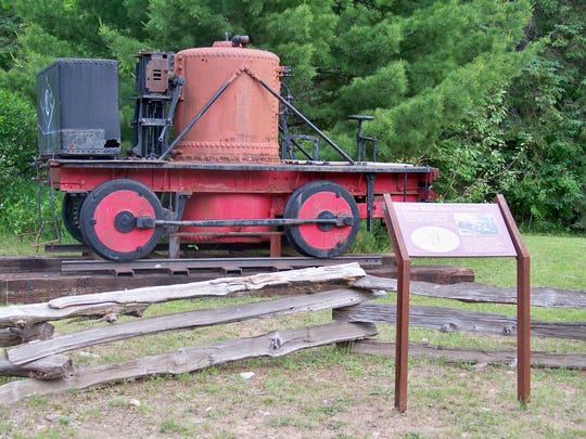 The Yankee has been on the grounds of the Michigan Iron Industry Museum since 1987.