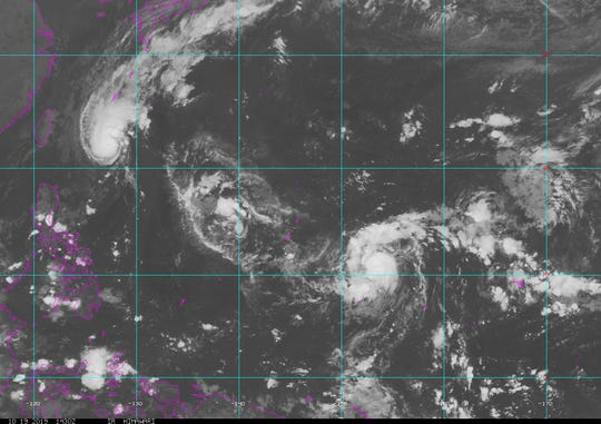 A typhoon watch is in effect for Rota, Tinian and Saipan.