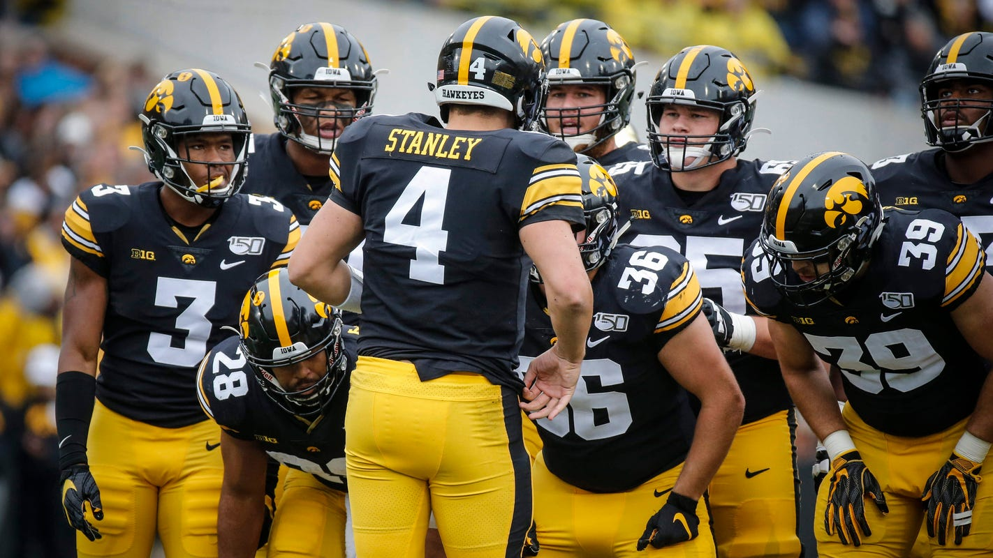 'It was a grind out there': Assessing Iowa's seesawing offensive performance against Purdue