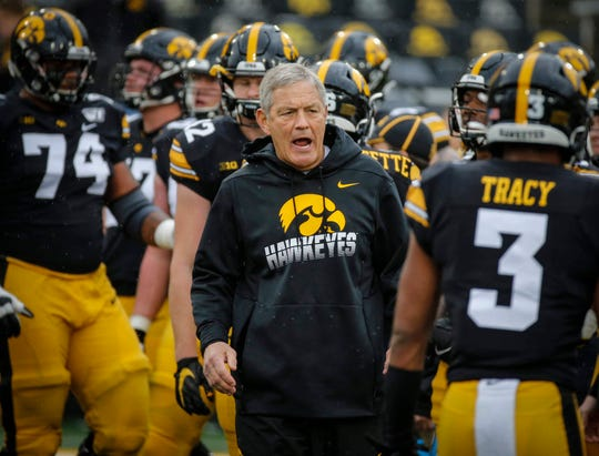 Two season-deciding games await Iowa and Kirk Ferentz after this idle weekend. The Hawkeyes travel to Wisconsin on Nov. 9 before hosting Minnesota the following Saturday.