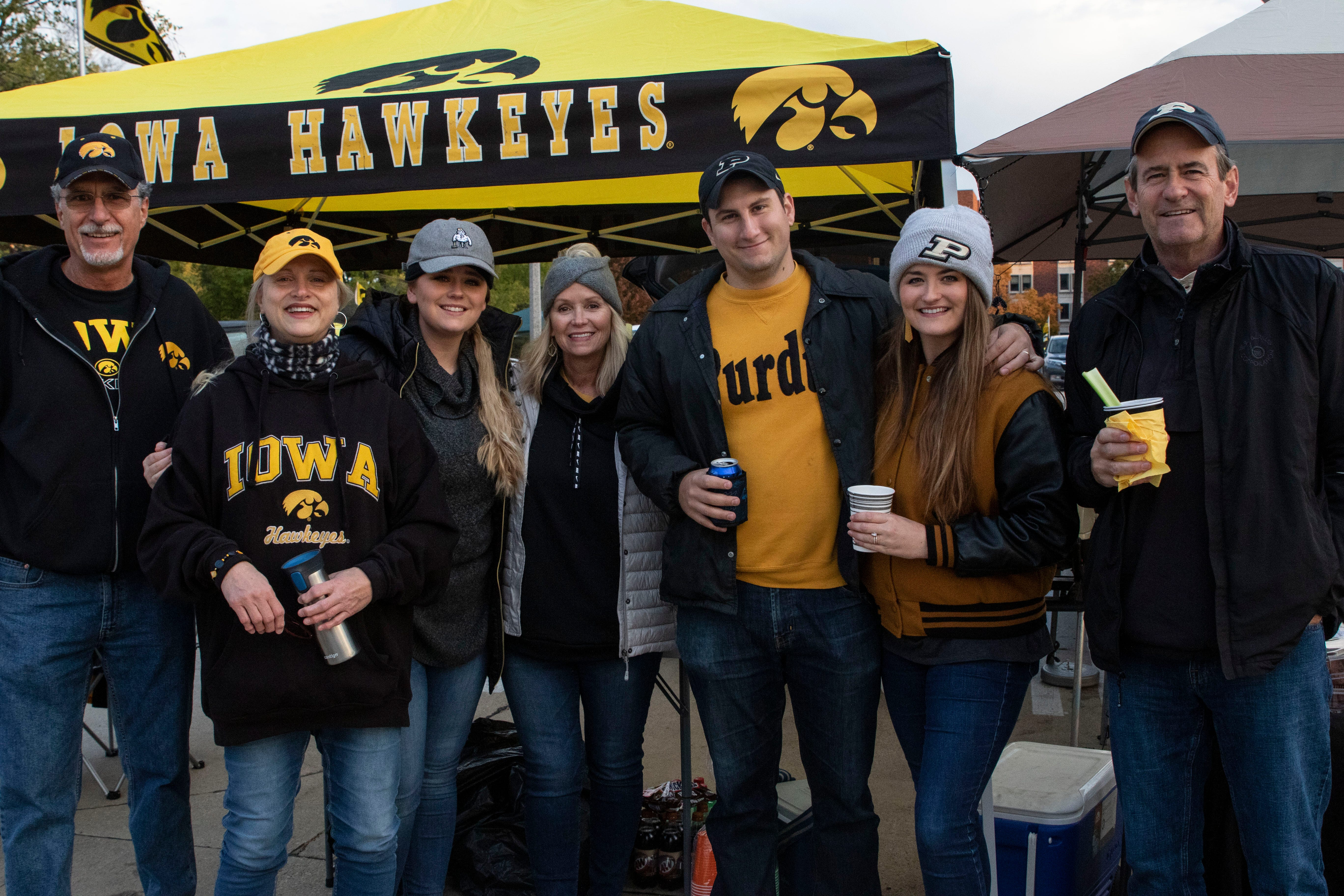 Iowa football: Photos of fans tailgating before Hawkeyes' game with Purdue