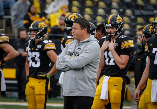 Nobody had a great day against Wisconsin two years ago in Madison, and that includes offensive coordinator Brian Ferentz. The Hawkeyes need to do a better job of sticking with the run, even if it's not effective, to keep things competitive with the Badgers.