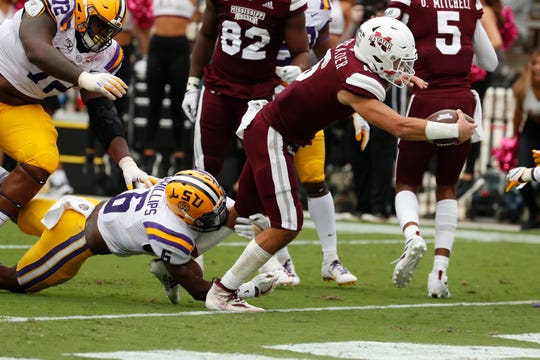 Mississippi State fans won't see Garrett Shrader and the Bulldogs in Davis Wade Stadium for almost a month.