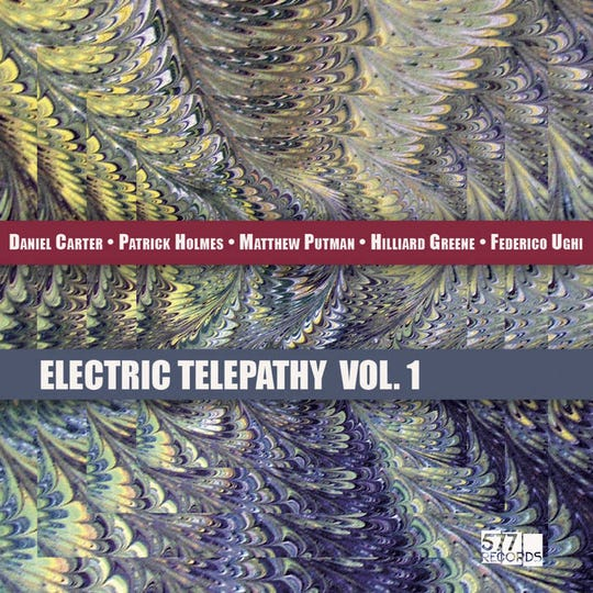 """Electric Telepathy Vol. 1"" by Telepathic Band"