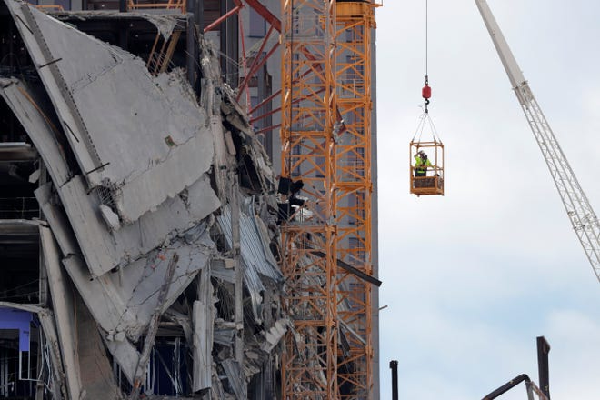 New Orleans officials have announced that the damaged Hard Rock Hotel will be demolished following its partial collapse in October.