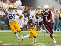 'Interception of the year': Watch LSU football's JaCoby Stevens make a one-handed INT