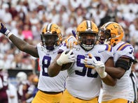 LSU's improving defense bent, didn't break, and collected 3 turnovers in win at Miss. St.