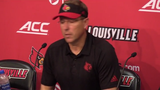 Louisville football coach Scott Satterfield shares his thoughts on his team's 45-10 loss to Clemson.