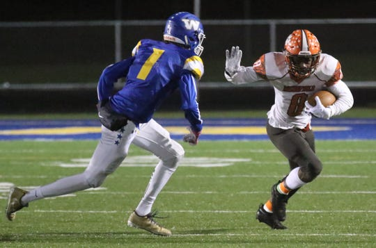 Mansfield Senior's Angelo Grose leads the Tygers into the City Rivalry on Friday night against Madison.