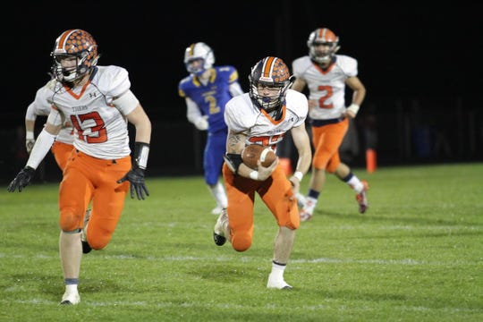 Galion took one step closer to at least sharing a league title beating Ontario.