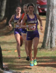 Lexington's Halle Hamilton led Lady Lex to yet another district championship on Saturday.