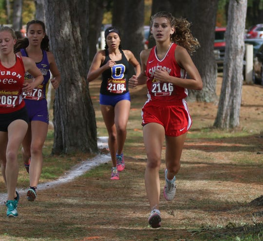 Shelby's Kayla Gonzales makes her first trip to state as a freshman and is excited for the experience.