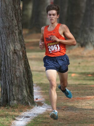 Galion's Braxton Tate shaved 35 seconds off his previous regional cross country time taking third on Saturday to make it to state.