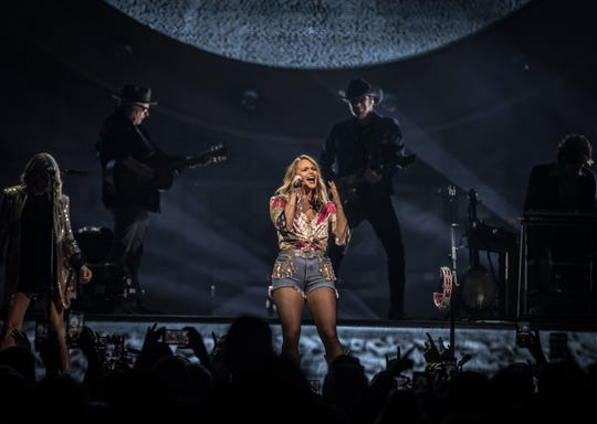 Miranda Lambert performs at Fiserv Forum on Oct. 18, 2019.