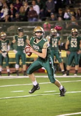 OCS quarterback Landon Grave passed for 273 yards and two touchdowns in his first career start in a 40-21 win over rival Oak Grove last Friday night at Steven Fitzhugh Field at Eagles Stadium.